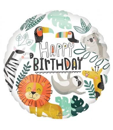 """42877 Get Wild Birthday (18"""")"""