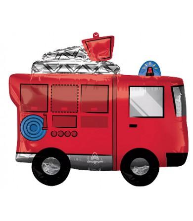 42802 Fire Truck - SuperShape