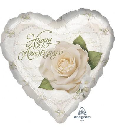 "07863 Petals & Pearls Anniversary (9"")"