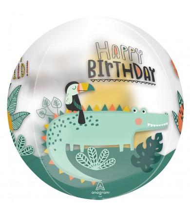 """42875 Get Wild Birthday Orbz®™  (16"""")"""