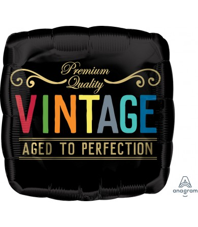 """41304 Vintage Birthday Aged to Perfection (18"""")"""