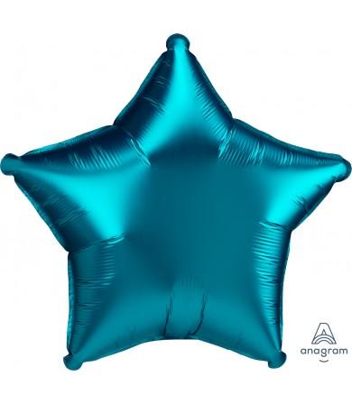 "41886 Satin Luxe® Aqua Star (18"")"