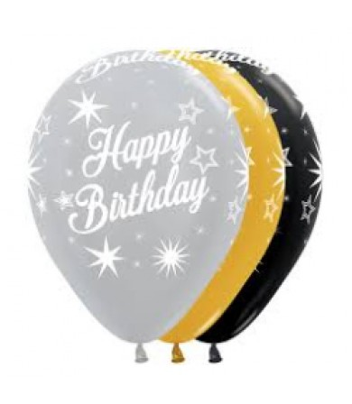 "Sempertex 12"" Metallic Balloon - AO HB Sparkling"