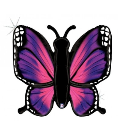 """35777P Radiant Butterfly - Pink (46"""")"""