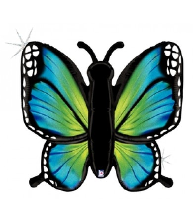 """35778P Radiant Butterfly - Blue (46"""")"""