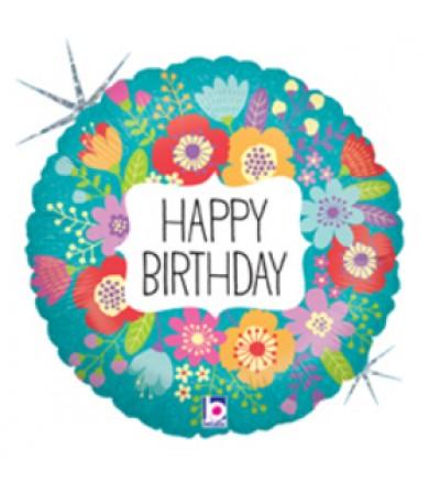 "32139 Wildflowers Birthday (9"")"