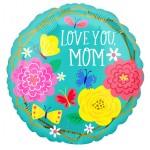 """42731 Mom Pretty Flowers & Butterflies (18"""")"""