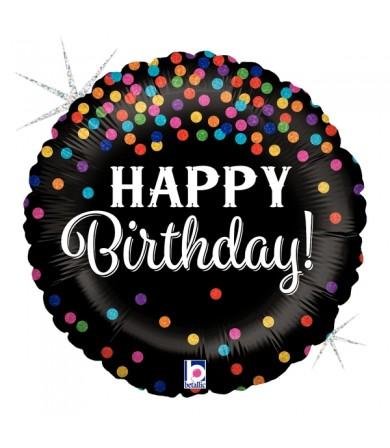 """36572P - Glittering Birthday Confetti (18"""")"""