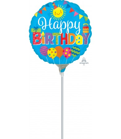 "35637 Happy Birthday Kid Party (4"")"