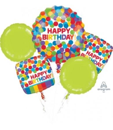 30936 Primary Rainbow Birthday Bouquet