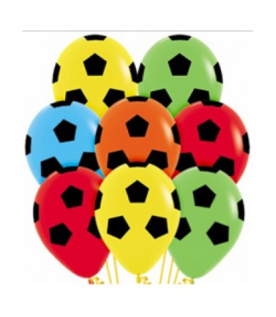 "Sempertex 12"" Fashion Solid Assorted 000 - AO Soccer Ball"
