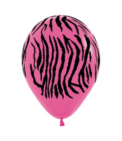 "Sempertex 12"" Fashion Solid Fuchsia 012 - AO Zebra"