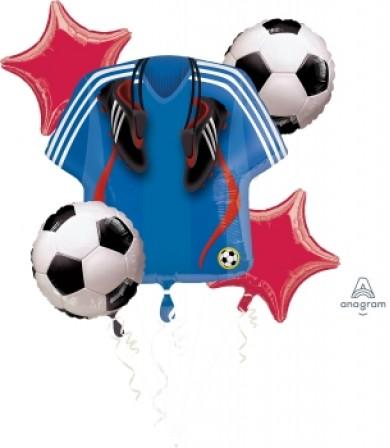 119254 Soccer Bouquet