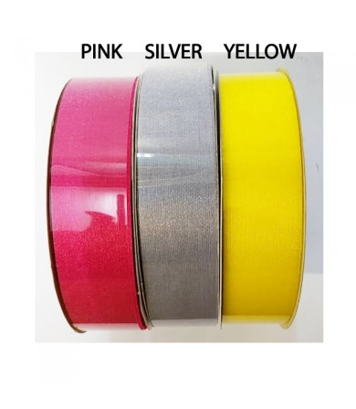 Balloon Ribbon - 30mm Organza