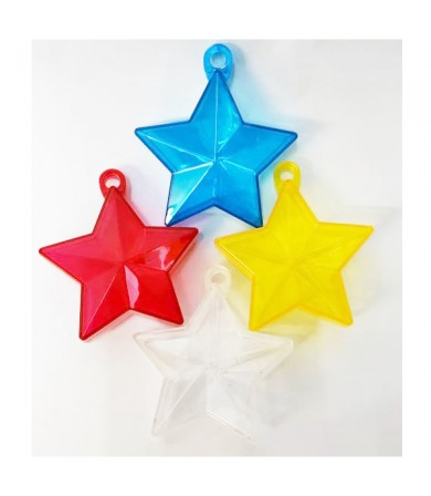 Balloon Weight - Crystal Star Weight