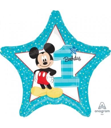 "34335 Mickey 1st Birthday (18"")"