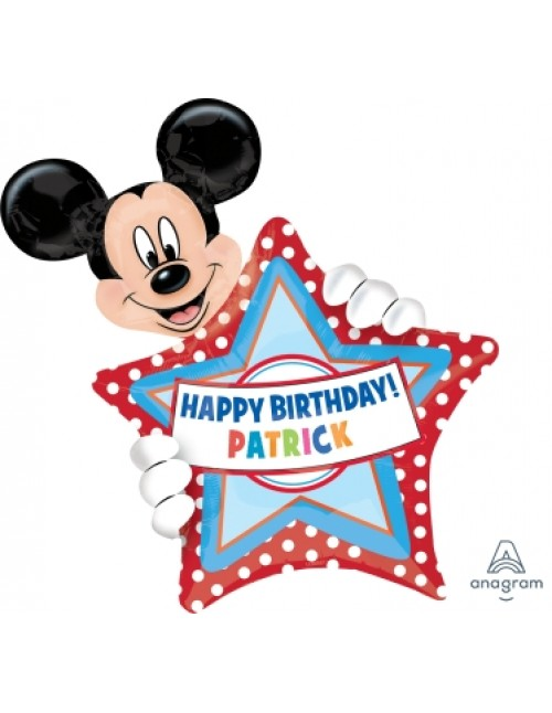 26364 Mickey Mouse Birthday - SuperShape