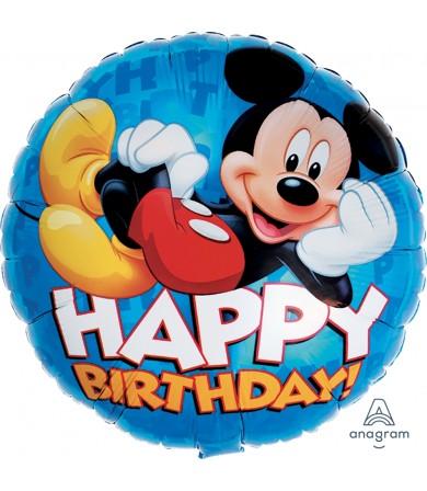 "M81640 Mickey Happy Birthday (18"")"