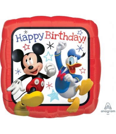 "36225 Mickey Roadster Racers Happy Birthday (18"")"