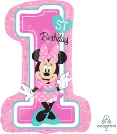 34352 Minnie 1st Birthday - SuperShape