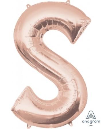 "34"" Letter S"